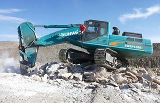 山河智能SWRP1080E挖掘机