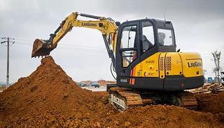 柳工 CLG906E 挖掘机