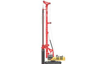 三一重工 SR235-W10 旋挖钻