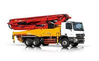 三一重工SYM5333THB 490C-8泵车