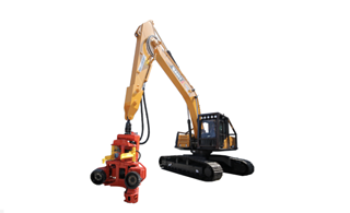 三一重工SY245F伐木林业机挖掘机