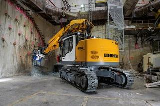 利勃海尔 R950 Tunnel 挖掘机