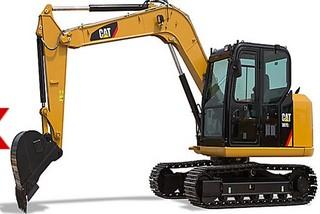 卡特彼勒308E2小型液压挖掘机