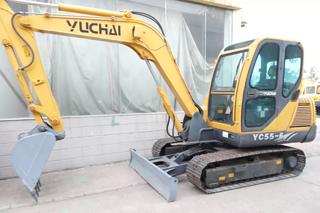 玉柴YC55-6挖掘机
