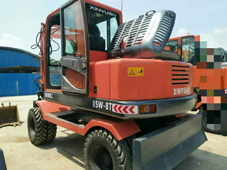 新源 XY75W-8T 挖掘机