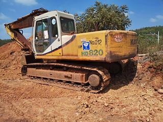 加藤 HD820-Ⅱ 挖掘机