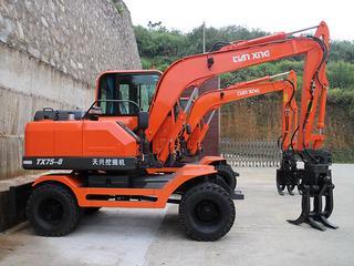 福建天興 TX75-8 挖掘機圖片