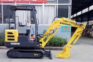 沭工SG8018挖掘机