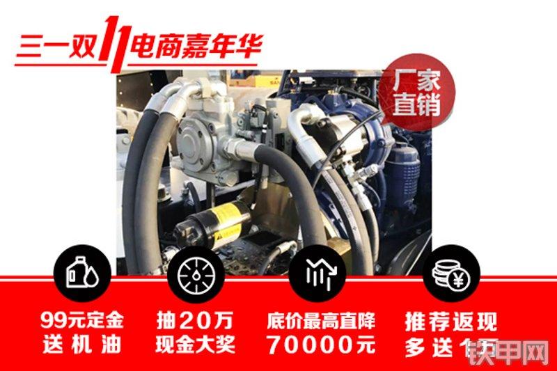 三一重工SSR220AC-8全液压压路机局部