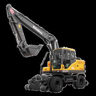 重庆勤牛 QNLG150S公路、铁路两用三段式加长臂 挖掘机