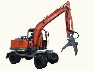 远山机械 YS775-8带夹石器 挖掘机