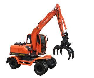远山机械 YS775-8带夹甘蔗拾装器 挖掘机