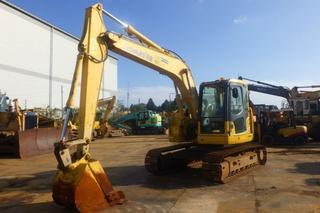 小松PC138US-8挖掘机
