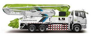雷萨重机 BJ5289THB-XD 泵车