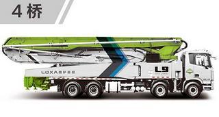 雷萨重机 BJ5449THB-XC 泵车