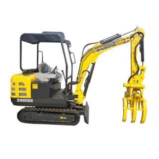 鲁特重工ZG8022挖掘机