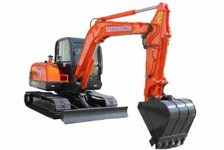 鲁特重工ZG60挖掘机