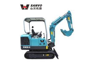 山沃 SW20-8 挖掘机