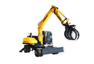 沃得重工W285W-9A挖掘机