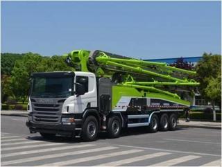 中联重科ZLJ5540THBSE泵车