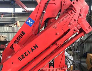 昊意科技 12吨5节臂东风国5折臂 起重机