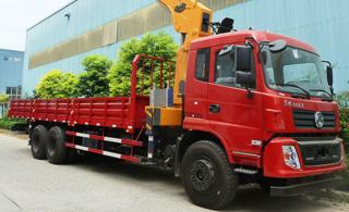 昊意科技12吨5节臂东风国5起重机
