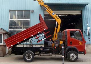 昊意科技3.2吨蓝牌折叠臂起重机