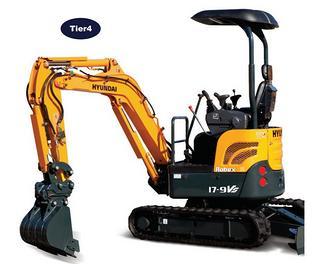 现代 R17-9VS 挖掘机