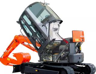 日立ZX50U-5A挖掘机