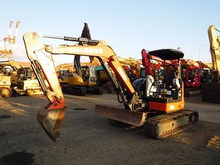 日立ZX50U-5B挖掘机