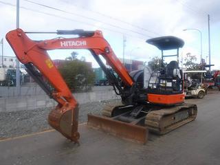 日立ZX40U-5A挖掘机