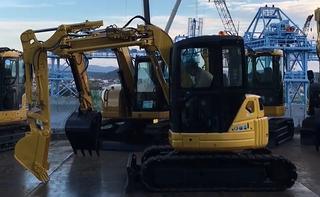 小松PC58UU-5挖掘机
