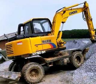恒远 HY90-9A 挖掘机