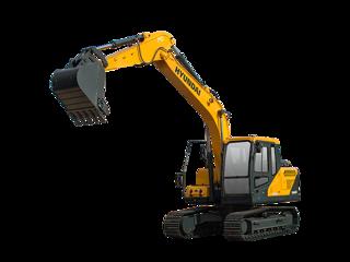 现代R130VS挖掘机
