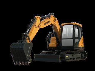 现代R75DVS挖掘机