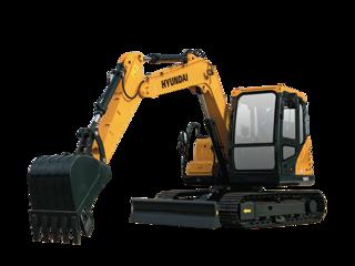 现代 R75BVS 挖掘机