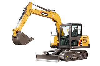 雷沃重工 FR80E2 挖掘机