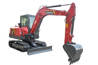 雷沃重工FR60E2-H高原机挖掘机