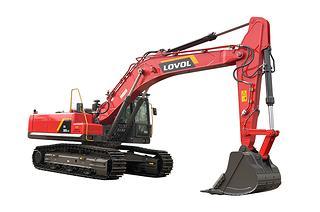 雷沃重工FR390E2-HD高原机挖掘机
