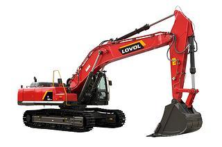 雷沃重工FR480E2-HD高原机挖掘机