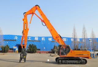 斗山DX300DM拆除挖掘机
