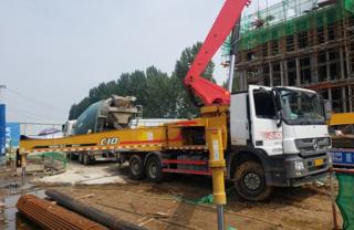 三一重工SYM5350THB泵车