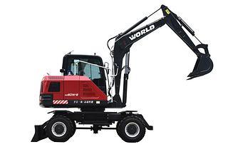 沃得重工W260W-9挖掘机