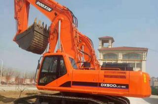 斗鑫重工 DX500LC-9C 挖掘機圖片