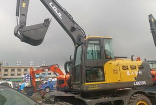 临工金利LG6135挖掘机