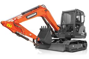 斗山DX60E-9CN挖掘机
