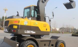 山东宝格 LG675N 挖掘机