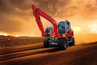 厦工 XG8075W 挖掘机
