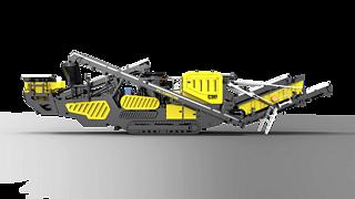 普石勒 PC-1300CRE 移动破碎站