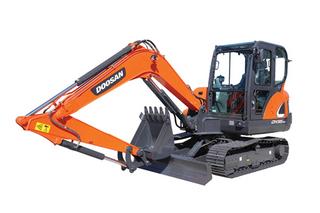 斗山DX55-9CN挖掘机